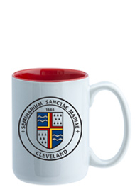 15 oz El Grande Two Tone ceramic mug - red interior