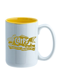 15 oz El Grande Two Tone ceramic mug - yellow interior