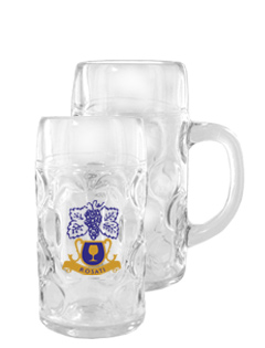 0.5 L Oktoberfest Customizable Libbey Beer Mug