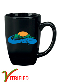 14 oz Houston Endeavor Customized Mug - Black