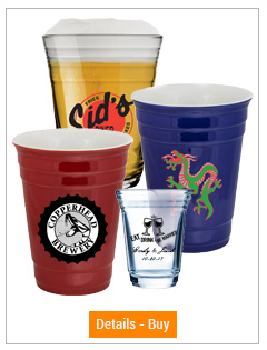 Party Cups and Party Shot Glass