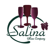 Salina Glass cusotm printed wine glasses