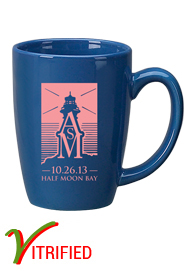 14 oz Houston Endeavor Customized Mug - Light Blue