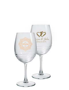 12 oz Eminence Goblet Wine Glass