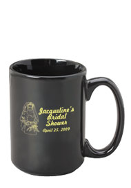 15 oz el grande ceramic mug - black