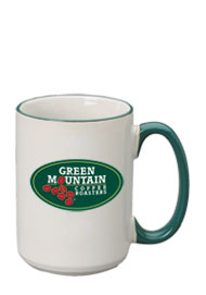 15 oz halo el grande mug - green handle