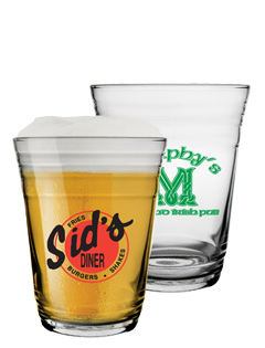 Personalized Party Glass Cup - 16 oz