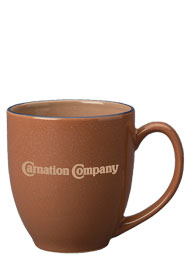 15 oz newport bistro mug - chocolate