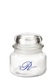 8 oz country kitchen glass jar