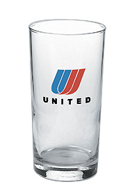 13 oz tall beverage glass