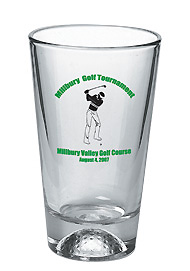 16 oz golf sport pint glass (mixing glass)