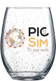 21 oz stemless Bola perfection wine glass