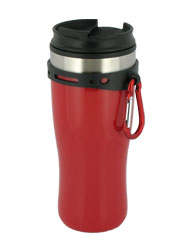 16 oz edge travel mug - red