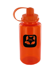 34 oz mckinley sports water bottle - orange