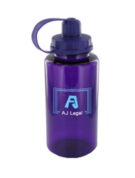 34 oz mckinley sports water bottle - purple