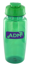 25 oz nautilus sports bottle - green