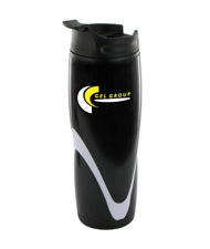 14 oz tango travel mug - black
