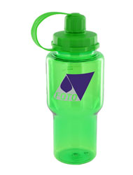 22 oz yukon sports bottle - green