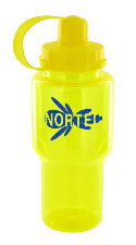 22 oz yukon sports bottle - yellow
