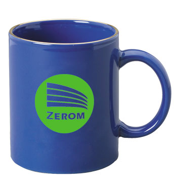 11 oz c-handle mug - midnight blue