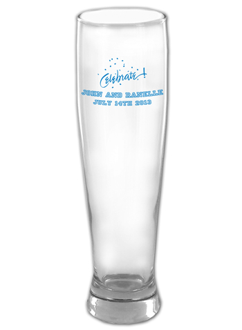 16 oz Custom Libbey Altitude Tall pilsner glass