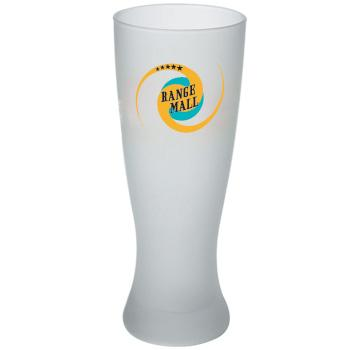 20 oz frosted pilsner beer glass