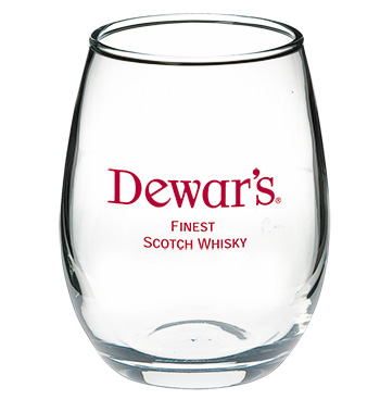 5.5 oz perfection stemless wine glass