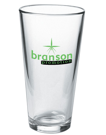20 oz custom pint glass (mixing glass)