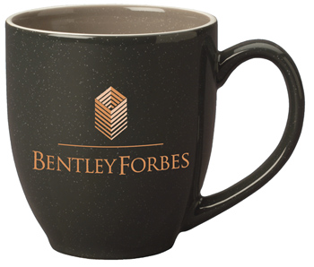 15 oz newport bistro mug- charcoal gray