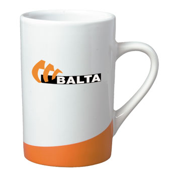 12 oz beaverton coffee mug - orange
