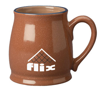 15 oz speckled country style mug - chocolate