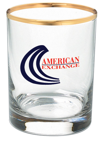 14 oz DOF whiskey glass