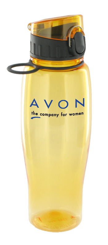 24 oz quenchers polycarbonate bottle - yellow