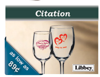 Libbey Citation wine glasses for tasting rooms and vineyards